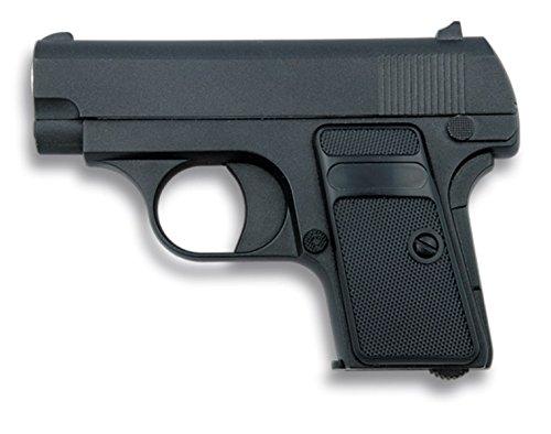 Galaxy - Mini pistola da Softair in metallo, colore: nero,velocità di tiro di68M/S–223FPS, potenza 0,28Joule.
