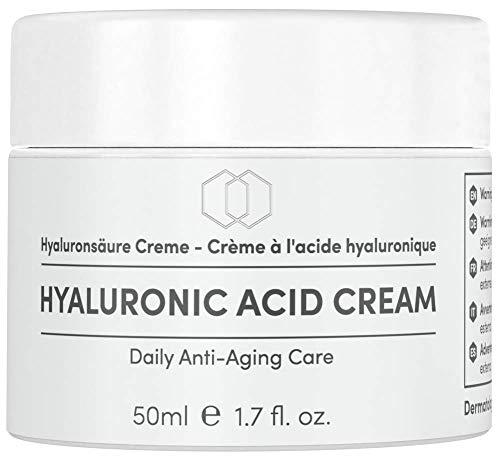 EINFÜHRUNGSANGEBOT Hyaluronsäure Anti Falten Creme LabCare Cosmetics - 50ml Opalglastiegel -...
