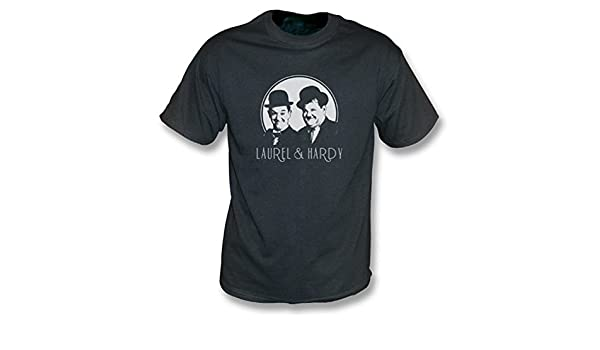 Stan and Ollie Laurel and Hardy Comedy Drama Film 1950s friends SB T-Shirt