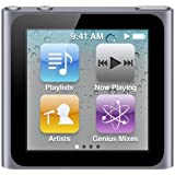 Apple iPod nano MP3-Player 16 GB  (6. Generation, Multi-touch Display) graphit