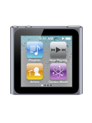 Apple iPod nano 6. Generation MP3-Player (Multi-touch Display) graphit 8 GB