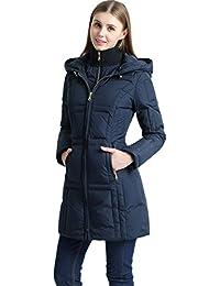 BGSD Women's Whitney Water Resistant Down Puffer Coat