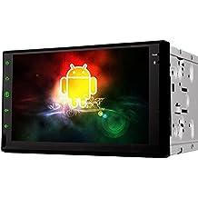 7 pollici 2 DIN universal Android 4.4 stereo autoradio HD schermo multi-touch di GPS di navigazione Senza Lettore DVD WIFI Bluetooth Specchio link - Costruito Nel Registratore Cd