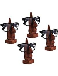R Crafts Wooden Spectacle Holder, Eyewear Holder, Eyewear Retainer Holder, Sunglasses Stand, Goggles Holder, Set...