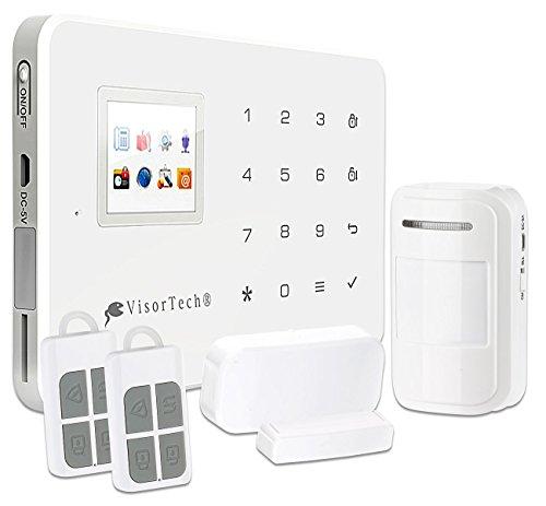 GSM-Funk-Alarm-Systeme: GSM-Alarmanlage mit Funk- & Handynetz-Anbindung