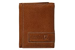 Neoterix Tan Genuine Leather Wallet