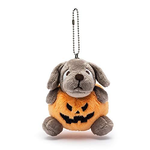 l Dekoration Set Halloween Plüsch Puppe Spielzeug Kürbis Hund 1 Packung für Halloweendeko Make-up-Party Halloween Dekoration ()