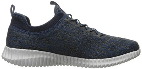 Skechers Elite Flex-Hartnell, Sneaker Infilare Uomo Blu (Navy/blue)