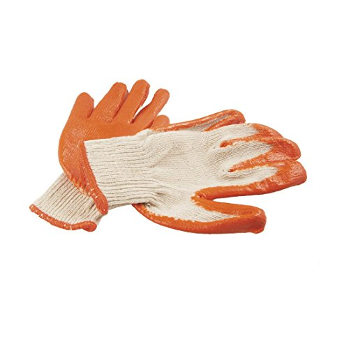 Rubber Coated Palm Arbeiten Arbeit Handschuhe ()