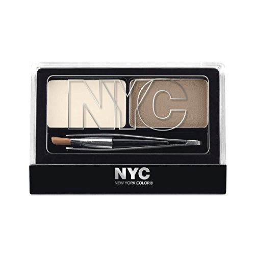 NYC Browser Brush On Brow Kit - Brunette