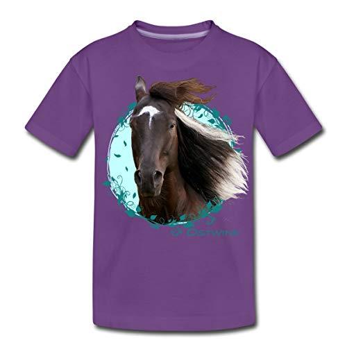 Ostwind Aris Ankunft Ostwind Porträt Teenager Premium T-Shirt, 146/152 (10 Jahre), Lila