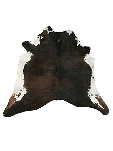 Zerimar Natürliches Kuhfell Teppich Premium | 3.03 M2 Maßnahmen: 180x200 cms | Echter Kuhfellteppich | Autetischer Fell Teppich