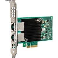 Hinkserver X550-T2 Pcie 10 جيجا b محوّل إيثرنت بقاعدة -T من Intel