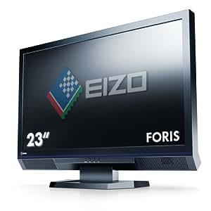 Eizo Foris FS2332-BK 58,4 cm (23 Zoll) LED-Monitor (2x HDMI, DVI-D, 6ms Reaktionszeit) schwarz