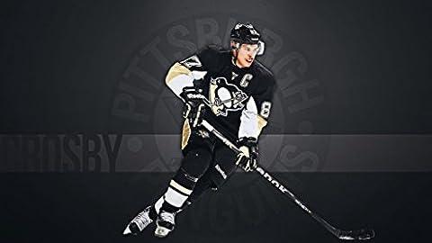 Pittsburgh Penguins (43x24 inch, 107x60 cm) Silk Poster Affiche de la Soie PJ18-E673