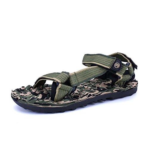 Zxcv Outdoor Shoes Men's Outdoor Shoes Men's Transpirable Beach Shoes Verde