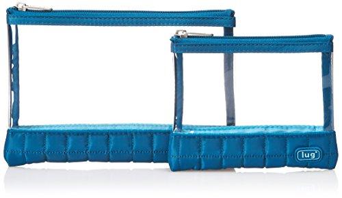 lug-womens-clearview-envelopes-2-pak-bag-organiser-ocean-blue