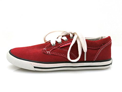 Dockers 327544 Sneaker synthétique cuir Rouge