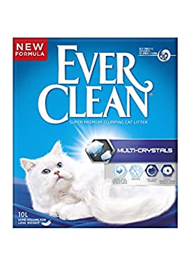 Ever Clean Cat Litter 10 Litre, Multi-Crystals by Clorex Company