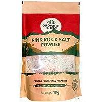 ORGANIC INDIA Pink Rock Salt - 1Kg Packet