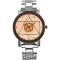 Frauen, Quarzuhren,Armbanduhr, Mode, Persönlichkeit, Freizeit, Outdoor, Metall, W0542