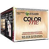 Garnier Color Me Coloration Cheveux Permanente Blond Très Clair Doré 10.03 - Lot de 3