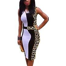 Vestido de Noche Atractivo Bodycon del Partido de la Tarde del Verano de las Mujeres Mini