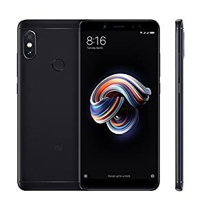 "Xiaomi Redmi Note 5 Smartphones Full HD 5.99 ""Pantalla 4 GB RAM + 64 GB ROM Snapdragon 636 Octa Core SIM Dual 13MP Frontal + 12MP Dual 5MP 1.4μm Big Pixel Rear Camera Mobile Phone (Negro)"