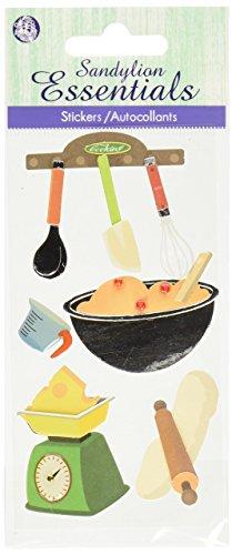 Cooking Essentials (Sandylion Essentials dreidimensionale Aufkleber 5,7x 12,7cm Sheet-Cooking)