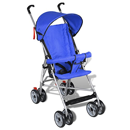 Contemporary Jet Stroller Baby Toddler Travel Baby Buggy Infant Home Cycling Blue