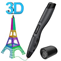 3D Printing Pen, Aerb Intelligent 3D Pen with LCD Screen,Compatible with PLA/ABS for Crafting, Art & Model,Best for DIY Gift