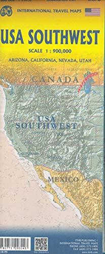 USA Southwest 1 : 900 000: Arizona, California, Nevada, Utah (Karten California)