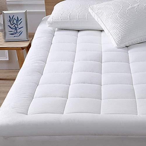 oaskys matratze auflage-abdeckung mit 18