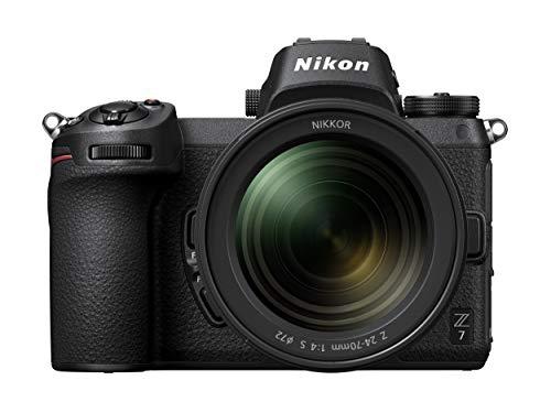 Nikon Z7 with 24 70 and 128 GB XQD Card  Black