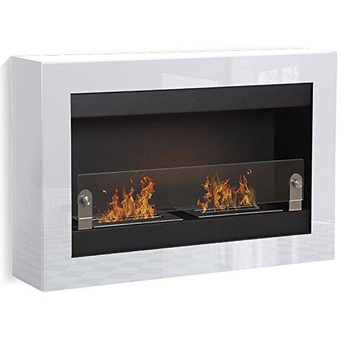 Vigo--blanco-2-quemadores-chimenea-etanol-Poele-Bio-pared
