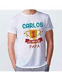 Lolapix Camiseta Personalizada con Nombre. Varios diseños y Tallas.Tacto  Algodón. Regalo Original 2a1741b687377