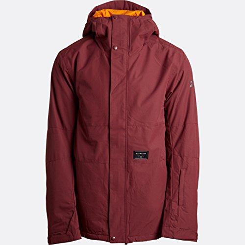 G.S.M. Europe - Billabong Herren Legacy Plain Jacket Jacke, Rot (Andorra), L - Herren Legacy-jacke