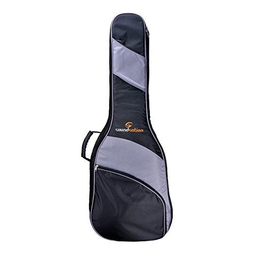 Soundsation pgb-10AG funda para guitarra acústica 111x 43x 13cm negro/gris