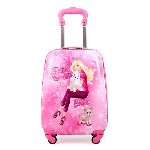 BAG Anime Mädchen Junge Gepäck Kind Rollenkoffer Cartoon 20 Zoll Studenten Reise Trolley Kinder Internat,D (Kind Mädchen Anime)