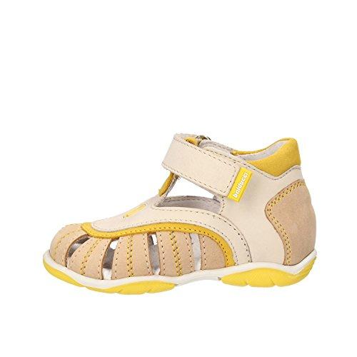 BALDUCCI sandali bambino giallo pelle scamosciata beige AF338 (19 EU)