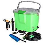 SHOPPOSTREET High Pressure Portable Car Washer With Electric clean Spray Gun, High Pressure