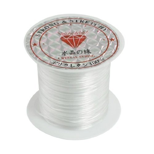 weiss-elastisch-dehnbar-kristall-schmuck-armband-kugelchen-schnur-string-garn-9m-de
