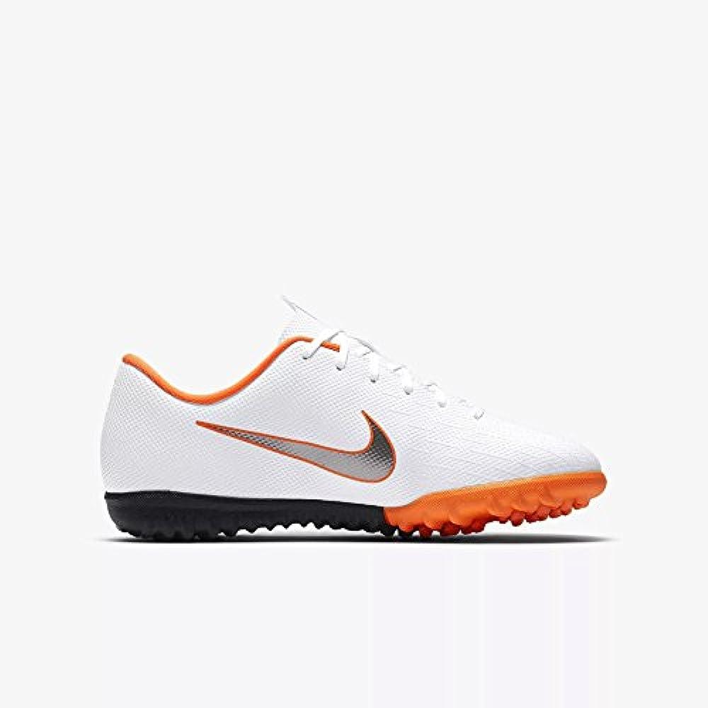 Nike Erwachsene Mercurial Vapor 12 Academy GS TF JR AH Fußballschuhe, Mehrfarbig (Indigo 001), 38.5 EU