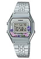 Casio Collection LA680WEA-4CEF Reloj de pulsera para Mujer, Plateado
