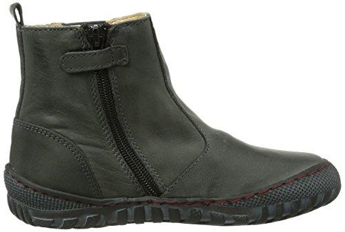 Pololo Chelsea, Chaussures bateau garçon Gris - Grau (Schiefer / 832)