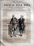 JOURNAL POUR TOUS [No 332] du 05/12/1860 - ROMANS ET NOUVELLES - L'HOTEL DE NIORRES PAR ERNEST CAPENDU - LE COUREUR DES BOIS PAR GABRIEL FERRY - MELANGES - POMMADES COSMETIQUES - LE MIRAGE - VARIETES - LA TOUR DE LOCHLEVEN PAR MAURY.