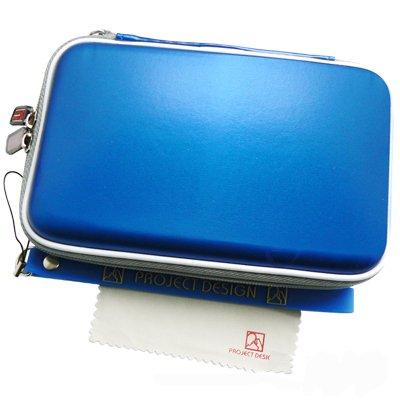 3in1 Geschenkpaket für Nintendo 3DS XL & New Nintendo 2DS XL - Tasche / Hardcover / Schutzhülle + Netzteil / Ladegerät / Ladekabel + Ersatzstift / Pen / Stylus (Gürtel Pen Tasche)