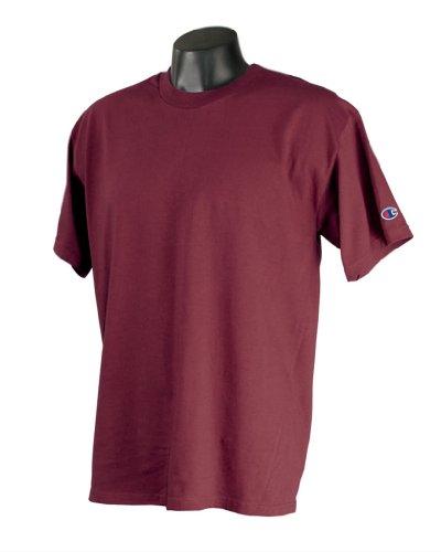 White Basketball Wei§er Basketball auf American Apparel Fine Jersey Shirt Bordeaux