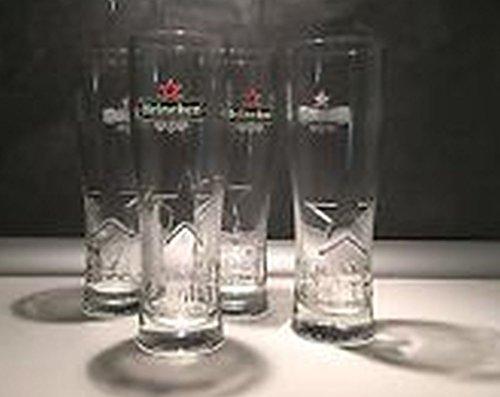 6 Verres Star Heineken 25 Cl