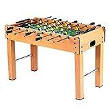 Creing Multijoueur Baby-Foot Professionnel babyfoot de Table pour Intérieur et à L'Extérieur Jeu de Table Soccer,121 * 61 * 79cm